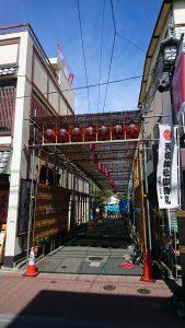 天祖神社祭り地蔵通り商店街
