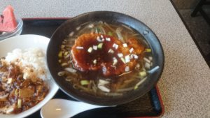 新栄巣鴨豚ロース麺