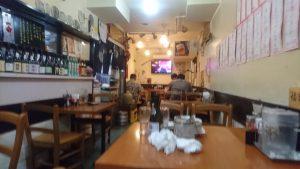 上海厨房玲玲の店内