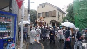 天祖神社祭り御神輿