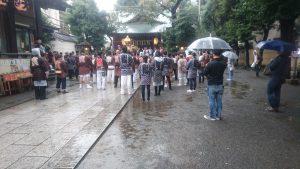 天祖神社祭り式典