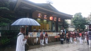 天祖神社祭り式典雅楽