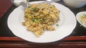 Private kitchen 1833ニラと挽肉のピリ辛炒飯