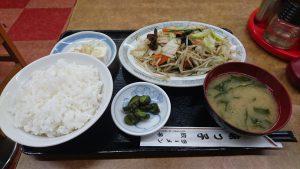 味っこ野菜炒定食