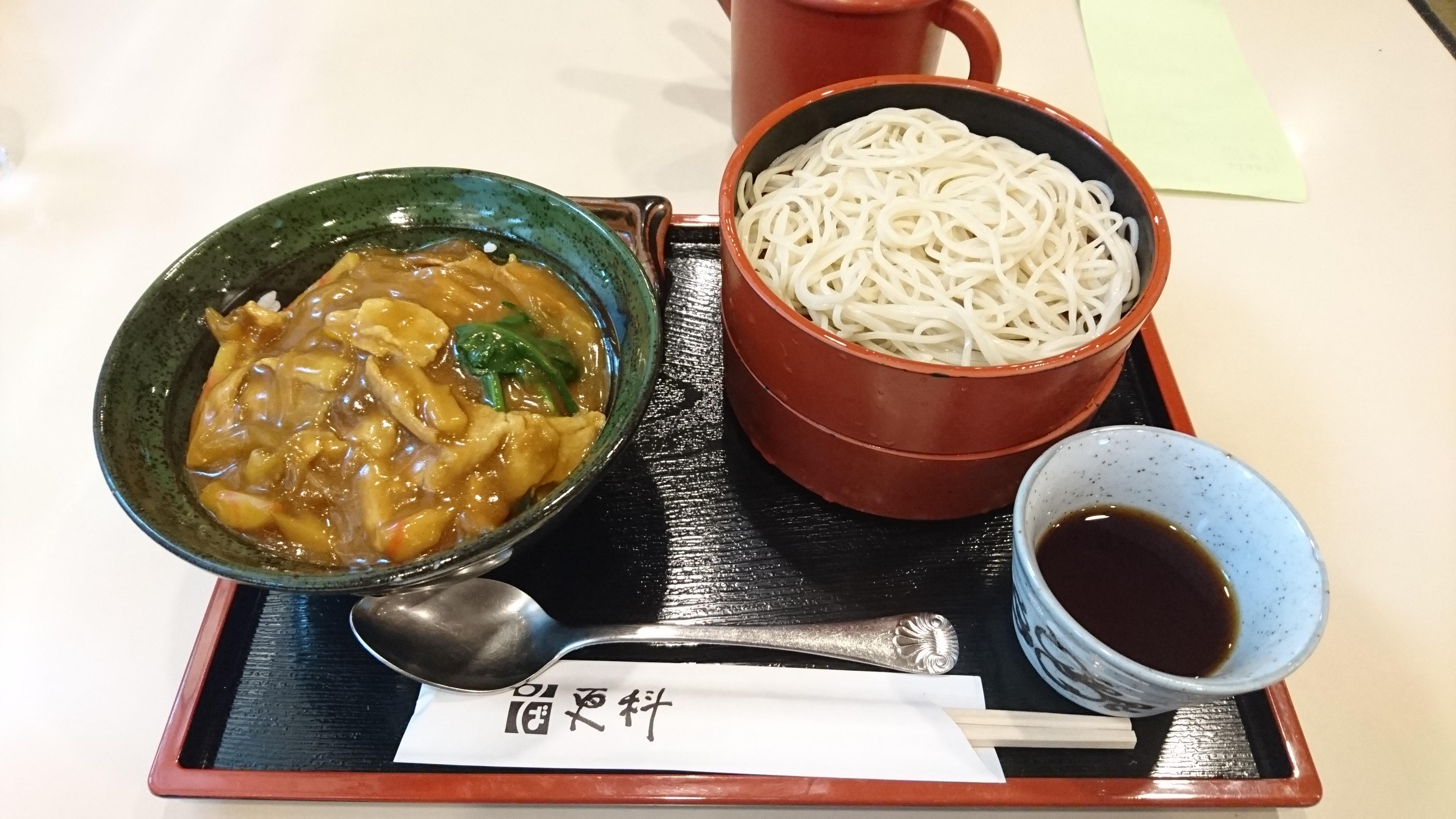 目黒更科巣鴨店カレー丼定食